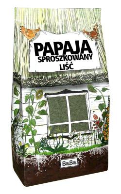 PAPAJA_sproszkowany-liść